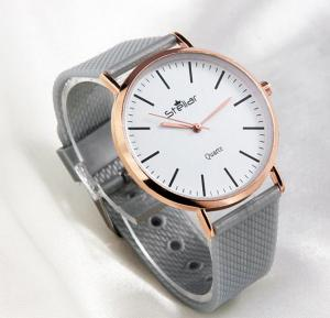 Stellar Luxury Quality Quartz  Watch for Women And Men Grey-ST103