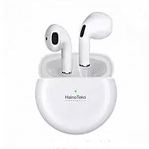 Haino Teko Round 1 Mini Bluetooth Earphone, White