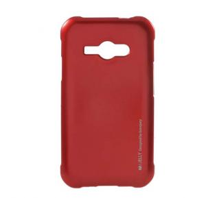 Samsung compatible Color Silicon Case for J110 Red
