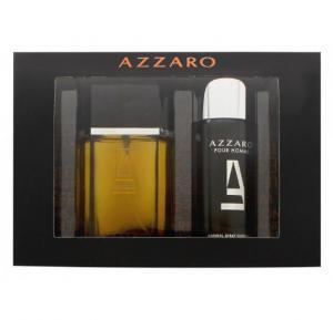Azzaro Night Time Gift Set EDT 100Ml and Deodorant 150Ml