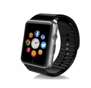 Smart 2030 Smart Watch Silicone Band For Android & iOS,Black - W008