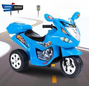 Al Taraf Rechargeable Ride on Racing Bike for Children, Alt238 Blue