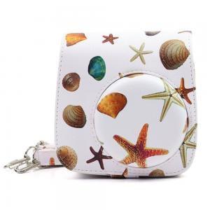 Gosmart Camera Bag For Fujifilm Instax Mini 8, 8+, 9, Sea Shell