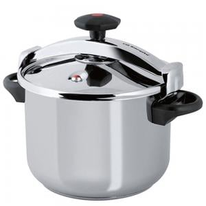 Royalford Stainless Steel Pressure Cooker Silver 12L, RF9652
