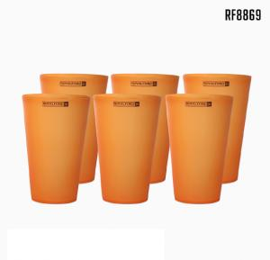Royalford Wafer Water Tumbler 470ml 6Pc - RF8869
