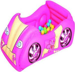 Bestway-inflatable-race-car-and-game-ball-pool-combo-pink-52159