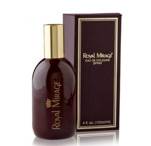 Royal Mirage Brown Eau de Cologne Classic Original, 120ml,Promo