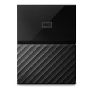 WD MY Passport 2TB Hard Disk, Black