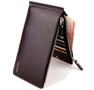 Long Zipper Handbags Fashion Casual Wallet For Men