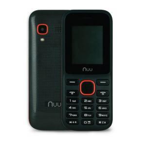 NUU F2 Dual Sim 32MB RAM 32MB ROM, Black