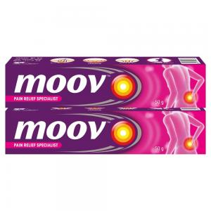 Moov Fast Pain Relief Cream Pack of 2 , 50g