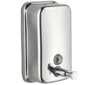 Stainless Steel Soap Dispenser Silver 15x5x9centimeter