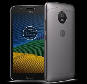 Moto G5 16GB Smartphone Grey, 16 GB, 3 GB RAM, 5 Inch Display, 13MP/5MP Camera - XT1676 AE