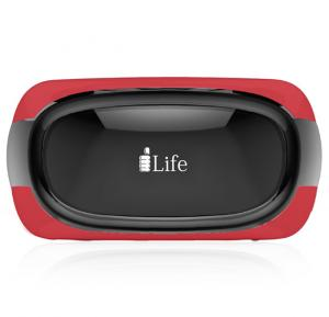 i-Life VirPix 5-inch Virtual Reality PC, Red - Quad Core, 1GB RAM, 8GB Storage, Android 5.1 - Red