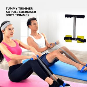 Gadget Bucket Ab Builder and Tummy Trimmer Ab Pull Exerciser Body Trimmer Keep Body Fit Slim Ab Exerciser