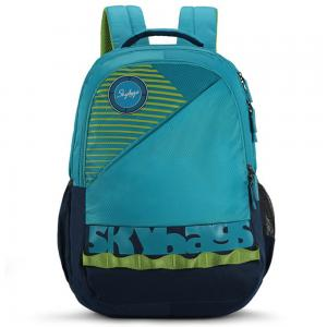 Skybags Bingo Extra 03 Blue School Backpack, SBBIE03BLU