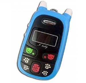 Smart Mobile Phone For Kids With One Key Emergency Call - Blue