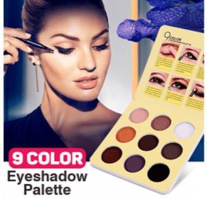 Kiss My Dear Eyeshadow Palette 9 Color - QM-XC6617