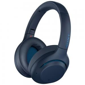 Sony Wireless Bluetooth Noise Canceling Headphones with Microphone WH-XB900N, Blue