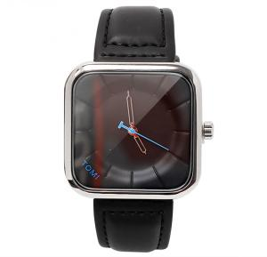 Tomi Black & Silver T093 Unisex Analog Watch for Men & Women