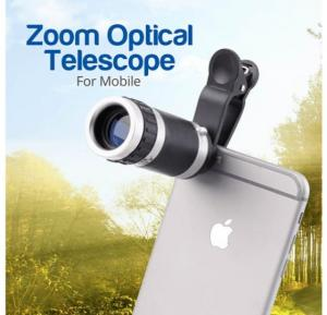 Universal Multi-Color 8-18x Zoom Optical Mobile Phone Telescope Lens For Smartphones