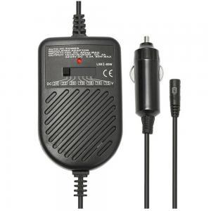 Lightwave LW-UPA-02C 80W Auto DC Power Regulated Adapter, Black