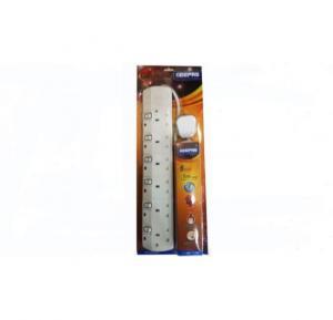 Geepas Power Strip Extension sockets 6 Sockets - GES4086