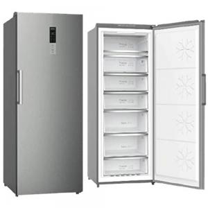 Super General Upright Freezer 450 Liter Inox Silver, SGUF441NDFCI