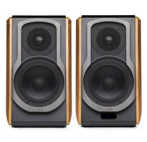 Edifier Audiophile Active Bookshelf Speaker S1000DB, Wooden and Black