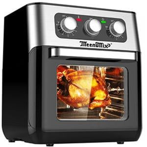 Meenumix Air Fryer Oven Manual 10 Ltr, MAF600