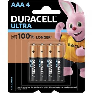 Duracell Ultra Type AAA Alkaline Batteries pack of 4, 32055