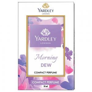 Yardley London Morning Dew Compact Perfume for Women, 18ml
