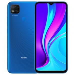 Xiaomi Redmi 9, 6.53 inch Full HD Display, 4GB RAM, 64 GB Storage, Blue