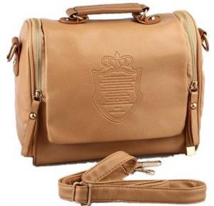 Brown Vintage Cross Body Shoulder Bag For Women