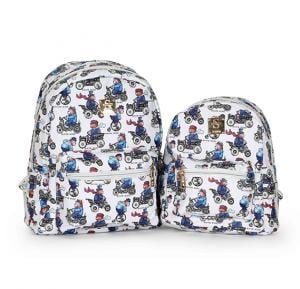OKKO 2 Pieces Mochila Backpack for Teenagers 13 Inch and 10 Inch , GH-179-4