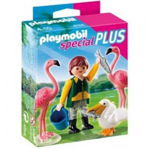 Zookeeper with Exotic Birds Toys, 4758