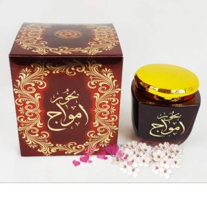 Al Zaafaran Bukhoor Amwaj Home Fragrance Incense Smell Bakhoor 80G For Unisex