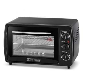Black & Decker TRO19RDG-B5 Double Glass Toaster Oven with Rotisserie