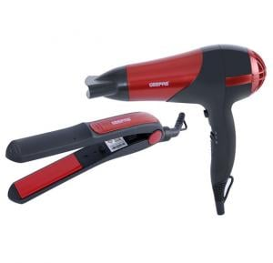 Geepas GHF86036 Combo Hair Dryer And Straightner