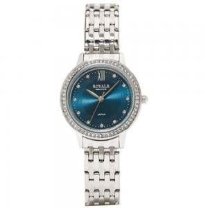 Royale Executive Womens Stone Studded Analog Watch, RE076F