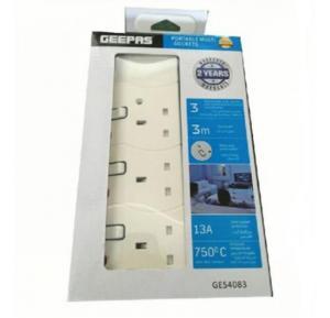 Geepas Portable Multi Socket - GES4083