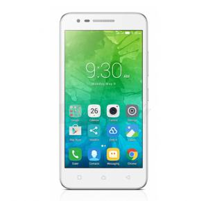 Lenovo C2 Smartphone,Android 6.0 (Marshmallow),5.0 inch IPS Display,8GB Storage,1GB RAM,Dual Sim,Dual Camera-White