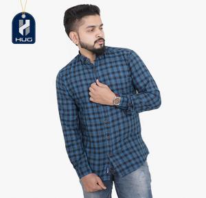 HUG Mens Casual Shirts Size L - MCBU0118