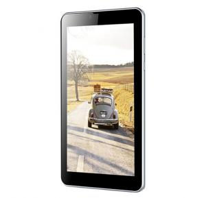 Tichips T702 Plus Tablet 3G, Android OS, 7 Inch Display, 16GB Storage, 1GB RAM, Dual Sim, Wifi- Silver