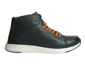 Yoho Tom Boot Lace-Up Low Top Sneaker Leather Size 43,Black