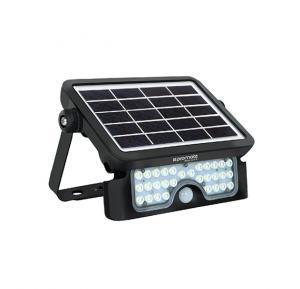 Promate LED Solar Light, Wireless IP65 Water-Resistant Solar Spotlight Auto On/Off Wall Light, Beacon-3