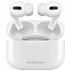 Riversong Air Pro EA79 TWS In Ear Earbuds White