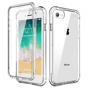 Green Rocky Series 360 Anti-Shock Case iPhone SE, Transparent