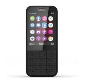 Nokia 225, 2.8 Inch LCD Display, Bluetooth, FM Radio - Black