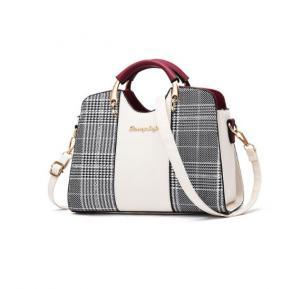 Messenger Bag for Women 2019 Casual Evening Bag -Black&white, MJ202